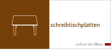 schreibtischplatten. Black Bedroom Furniture Sets. Home Design Ideas